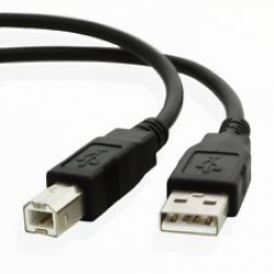 10FT USB 2.0 Type A to Type B Male Data Printer Cable Cord for HP CANNON