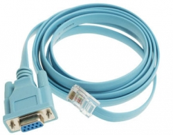 Cisco DB9 to RJ45 Console Cable, 6 Ft, 72-3383-01